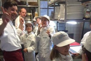 Küchenparty für Kindergeburtstage